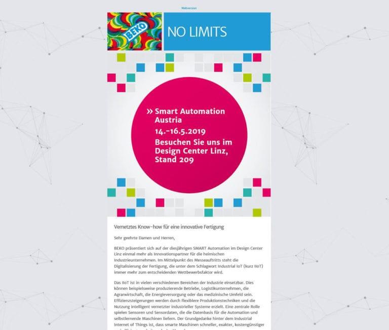 Beko-Newsletter-SmartAutomation