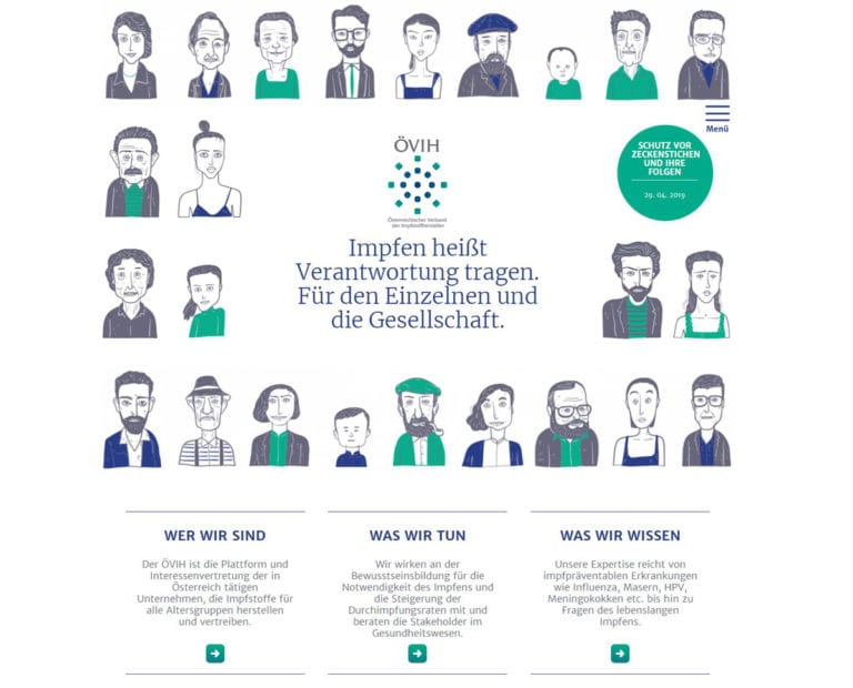 Oevih-Verband-Impfstoffhersteller-Webiste-Portal