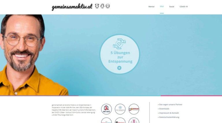 Website-gemeinsamaktiv-BetroffeneChronischKrank-Unterseite